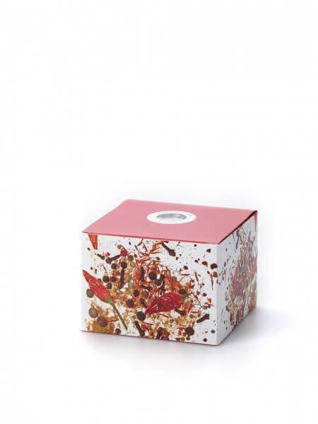 Geschenkverpackung leer für 4 große Dosen oder 8 kleine